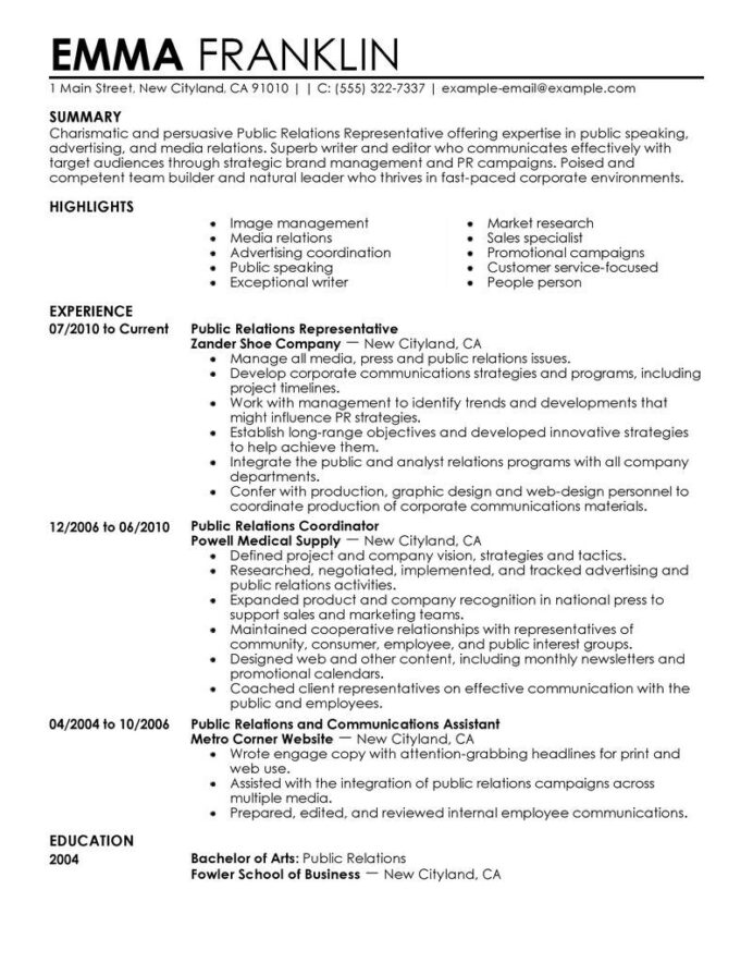 pr resumes ideas resume examples public relations student child and youth worker sample Resume Child And Youth Worker Skills Resume