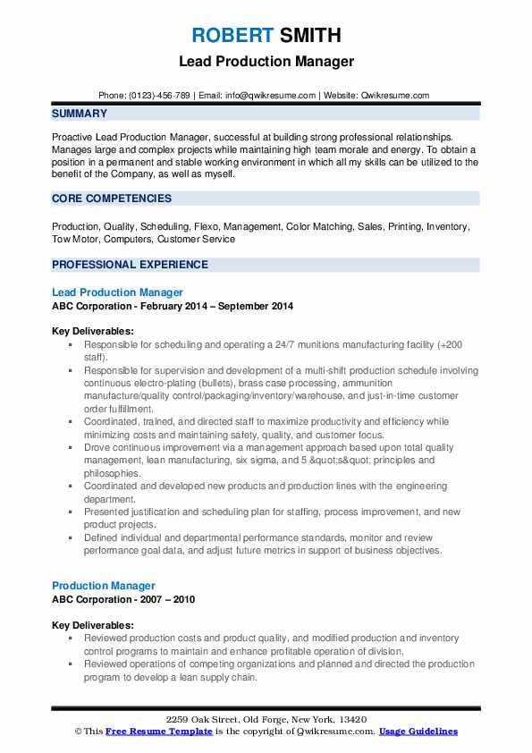 production manager resume samples qwikresume print examples pdf headline for your Resume Print Production Resume Examples