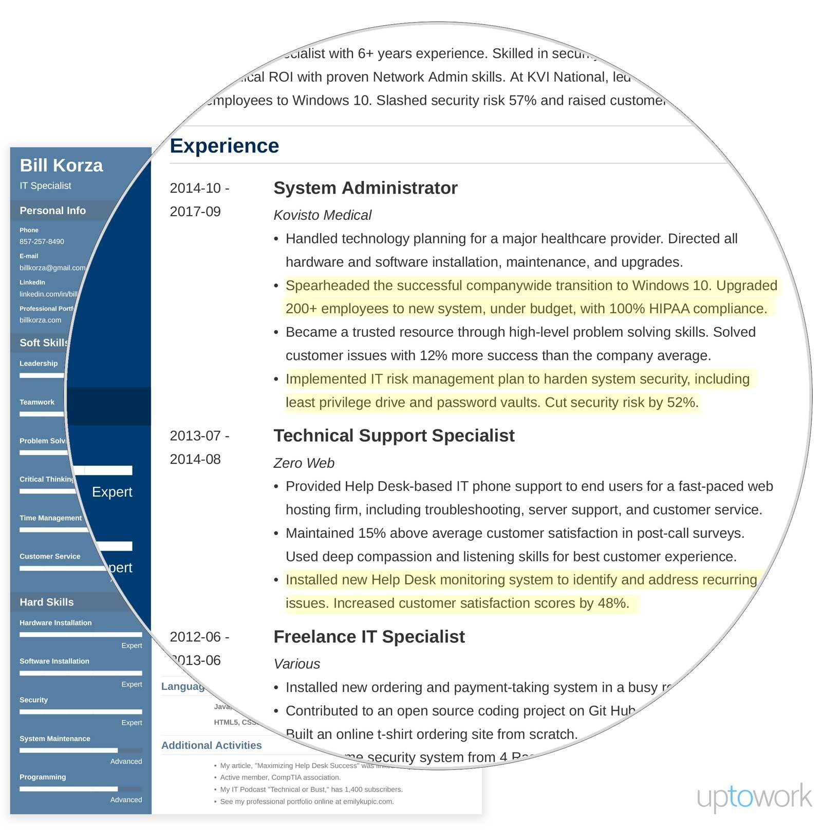 professional resume profile examples section template summary example chemical Resume Professional Profile Resume Examples