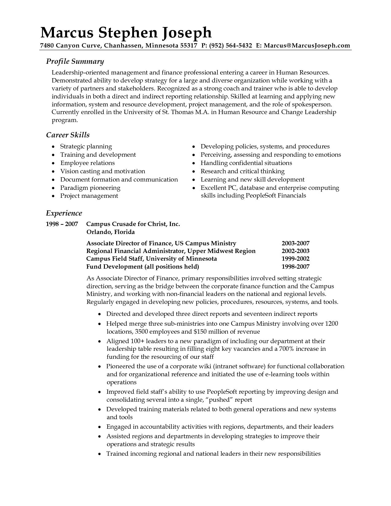 professional summary resume examples career statement profile free cover letter shipping Resume Professional Profile Resume Examples