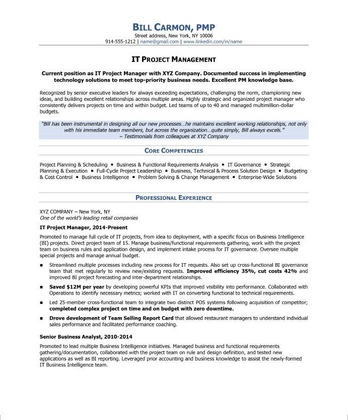 project manager resume sample skills business process management examples mainframe Resume Business Process Management Resume Examples