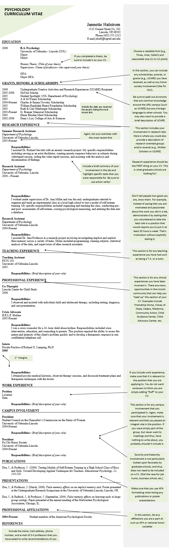 psychology cv and resume samples templates tips of counseling psychologist sample format Resume Resume Of A Counseling Psychologist