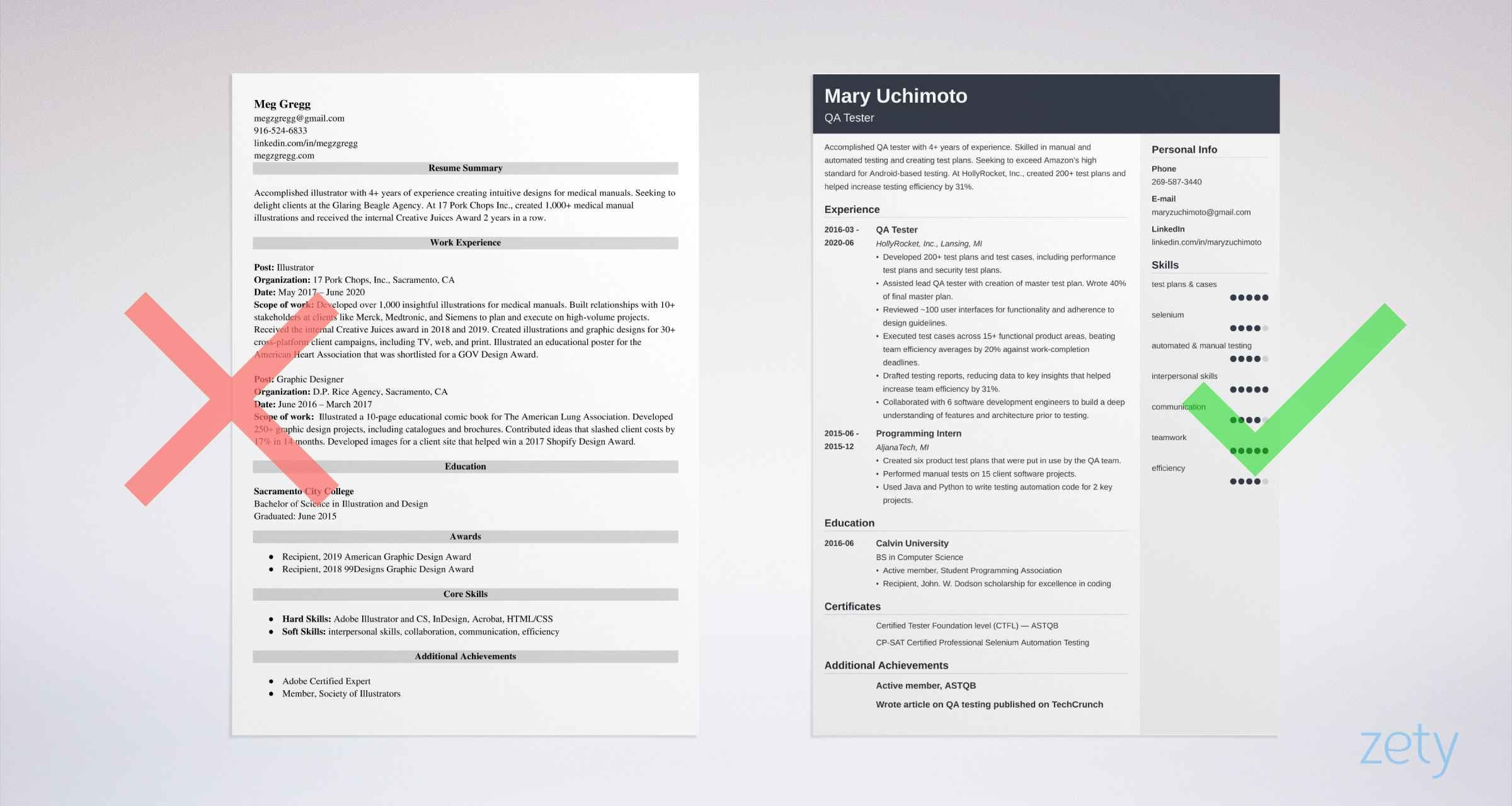 qa tester resume examples and complete guide tips with years experience example zety Resume Qa Tester Resume With 5 Years Experience
