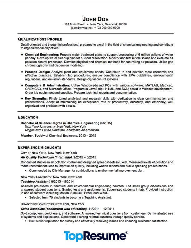 recent graduate resume sample professional examples topresume student multiple positions Resume Student Resume Examples