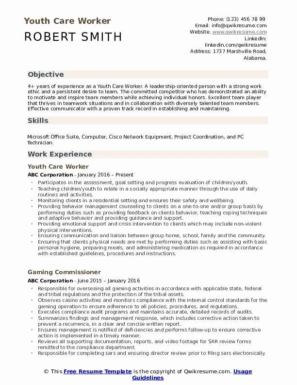 residential counselor job description resume beautiful youth care worker samples examples Resume Residential Counselor Resume