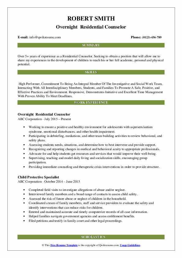 residential counselor resume samples qwikresume pdf lvn case manager great objectives Resume Residential Counselor Resume