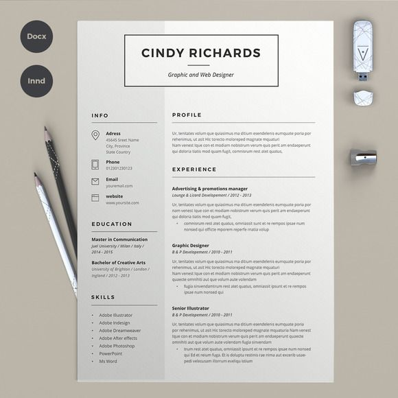 resume cindy creative templates design best template examples free objective for Resume Best Resume Examples Free