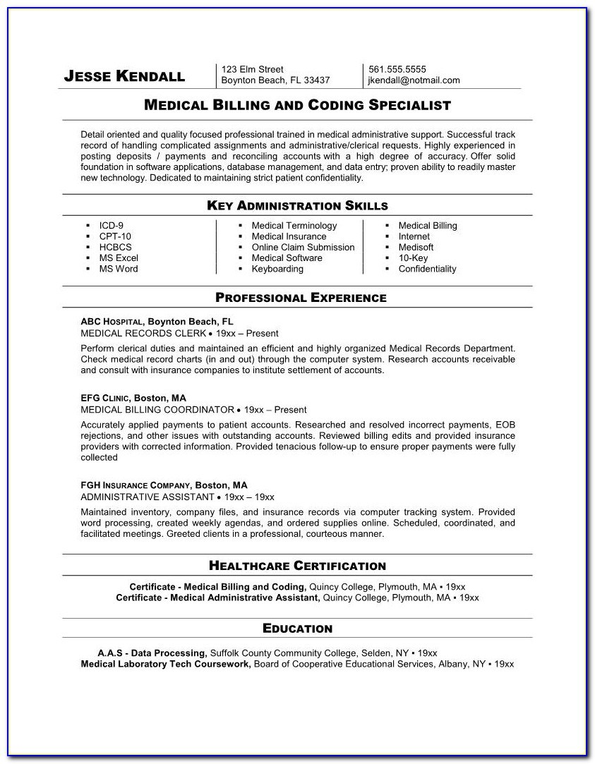 resume examples for medical billing specialist vincegray2014 telecommunications bld login Resume Medical Billing Specialist Resume