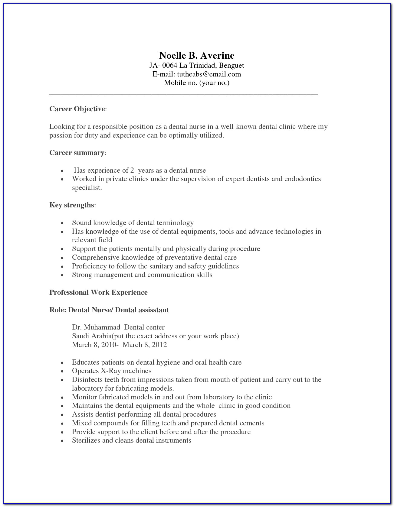 resume for dental assistant with experience vincegray2014 examples no oilfield on word Resume Dental Assistant Resume Examples With No Experience