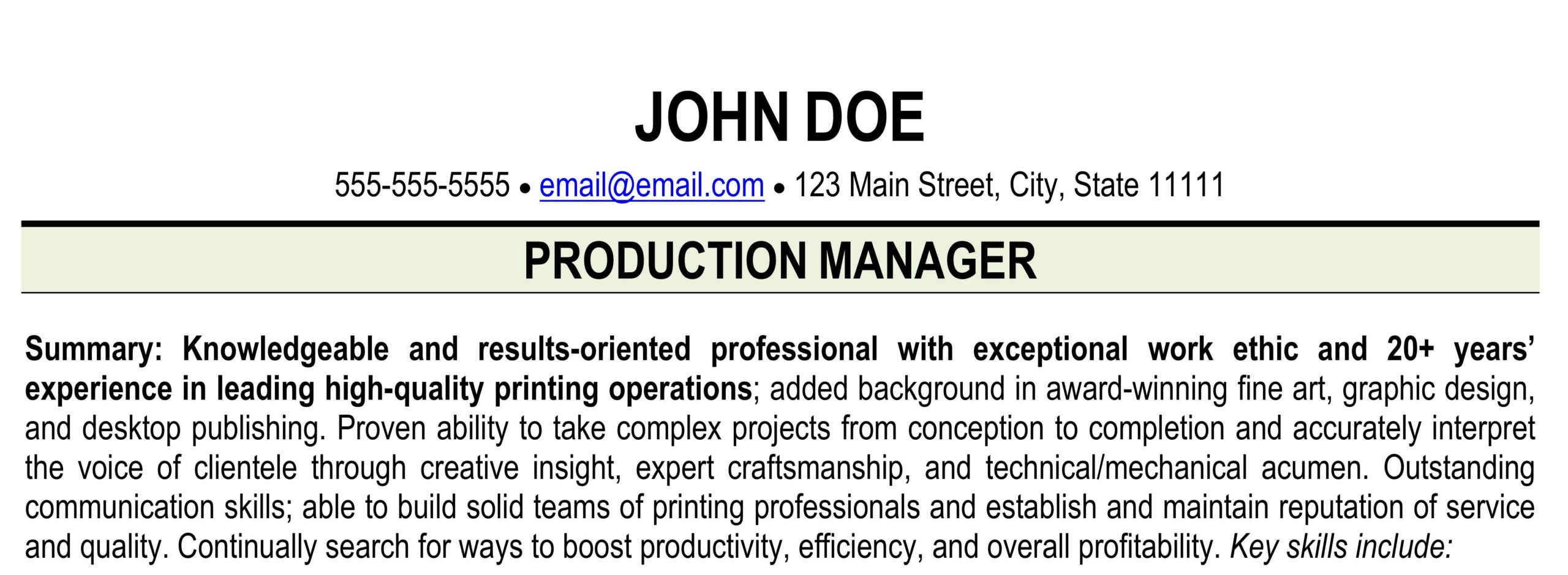 resume for printing industry print shop ihireprinting production examples geology Resume Print Production Resume Examples