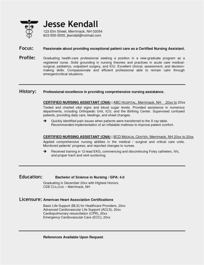 resume objective examples for nursing assistant sample certified promotion industrial Resume Certified Nursing Assistant Resume Objective