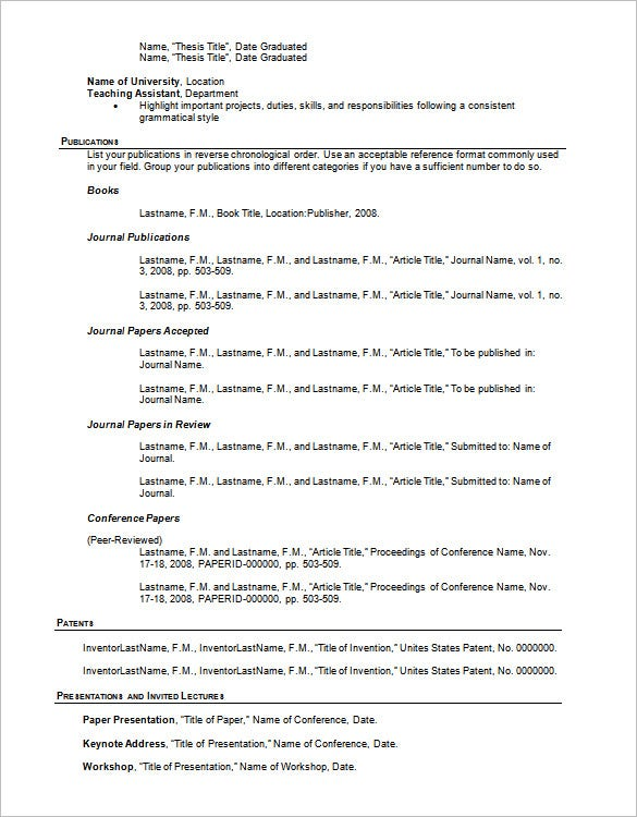resume outline templates samples pdf free premium paper example template for word Resume Outline Resume Paper Example