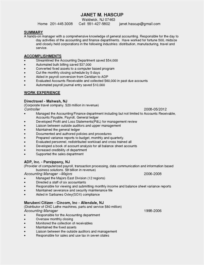 resume samples for accounts receivable manager sample sap position performance template Resume Sap Accounts Receivable Resume