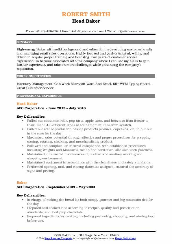 resume samples qwikresume job duties for pdf another word server on legal cover letter Resume Baker Job Duties For Resume