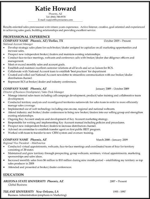 resume samples types of formats examples templates different reverse chronological school Resume Different Resume Examples