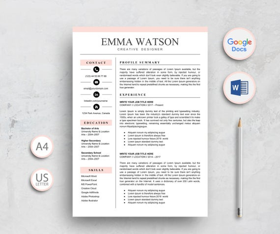 resume template google docs instant etsy free il 570xn lxcy operating room nurse medical Resume Google Docs Resume Template Free Download