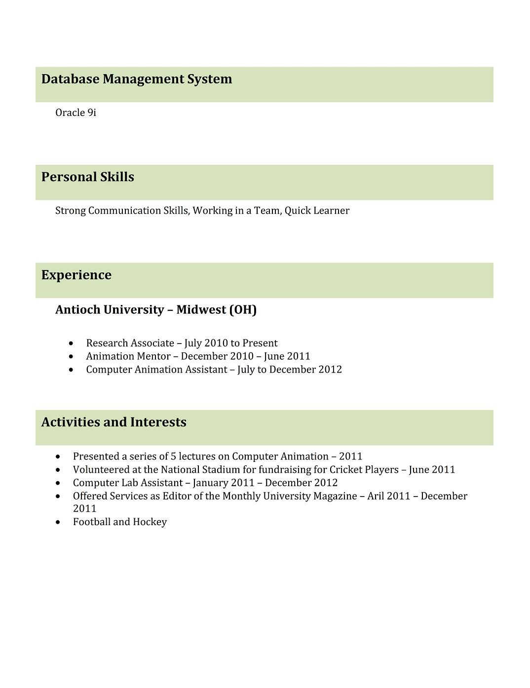 resume templates free for freshers looking the first job downloa professional samples Resume Resume For Animator Fresher