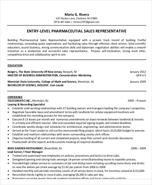 resume templates in pdf free premium medical rep examples entry level pharmaceutical best Resume Medical Sales Rep Resume Examples