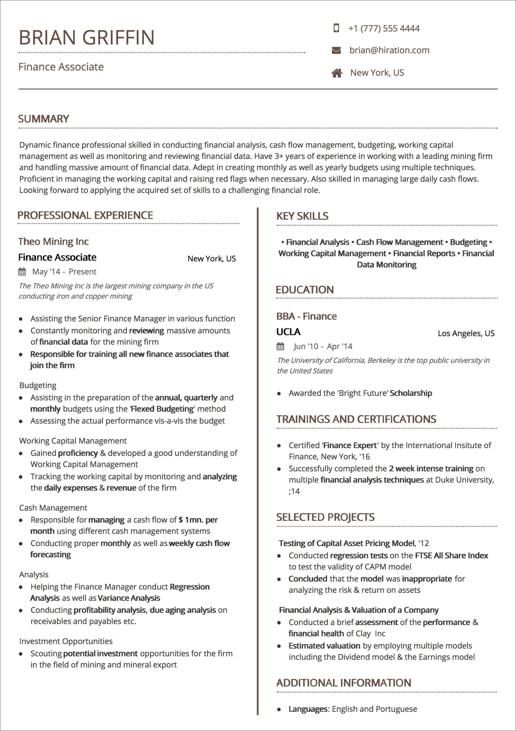 resume templates the guide to choosing best template ats compliant uniform first time Resume Ats Compliant Resume Template