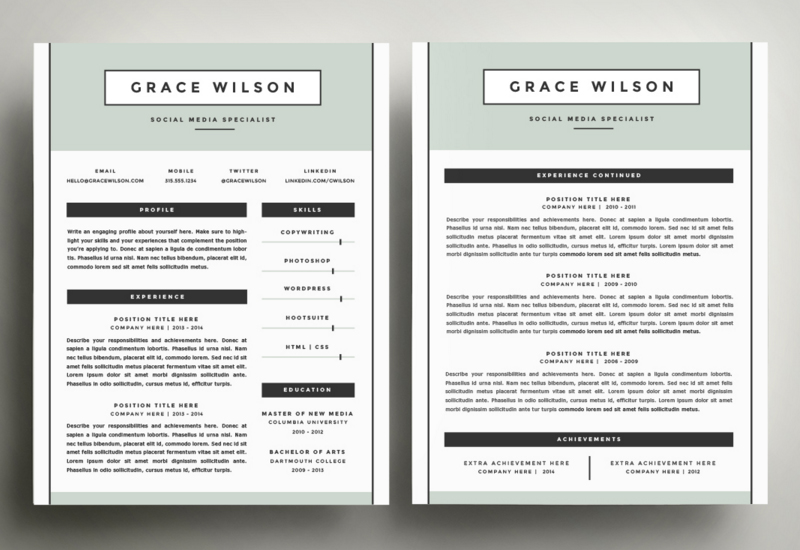 retiredirslawyer resume examples best two format freight handler job description for Resume Best Two Page Resume Format