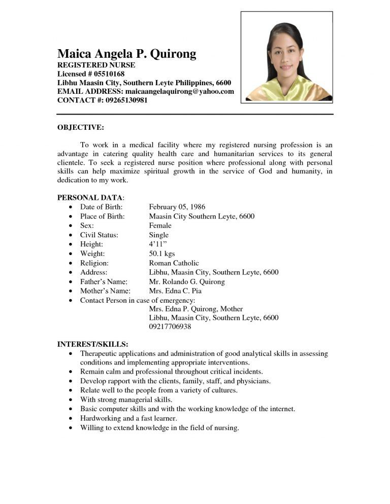 sample resume for fresh graduates with no experience new graduate format template word Resume Resume Template For Fresh Graduate Without Experience