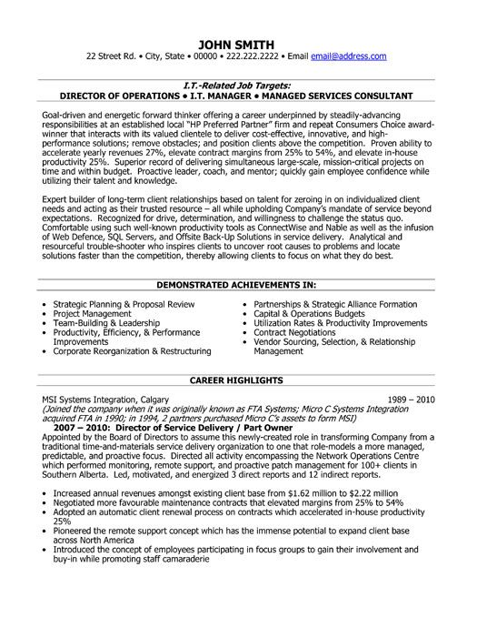 sap service delivery manager resume best professional template reconciliation sample Resume Sap Delivery Manager Resume