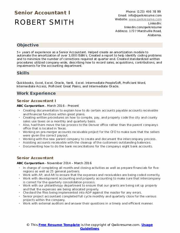 senior accountant resume samples qwikresume objective examples pdf best designs attach on Resume Senior Accountant Resume Objective Examples