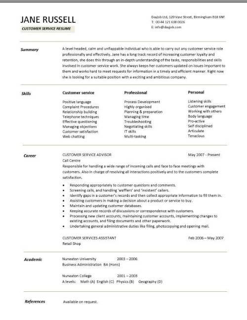skills on customer service resume customers project manager sample templates professional Resume Professional Skills For Customer Service Resume