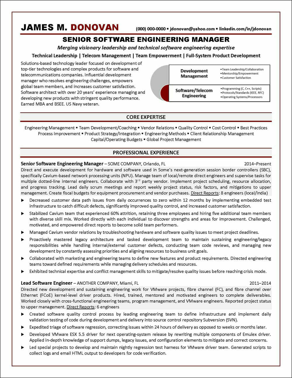 software engineer resume example distinctive career services of engineering manager Resume Example Of Software Engineer Resume