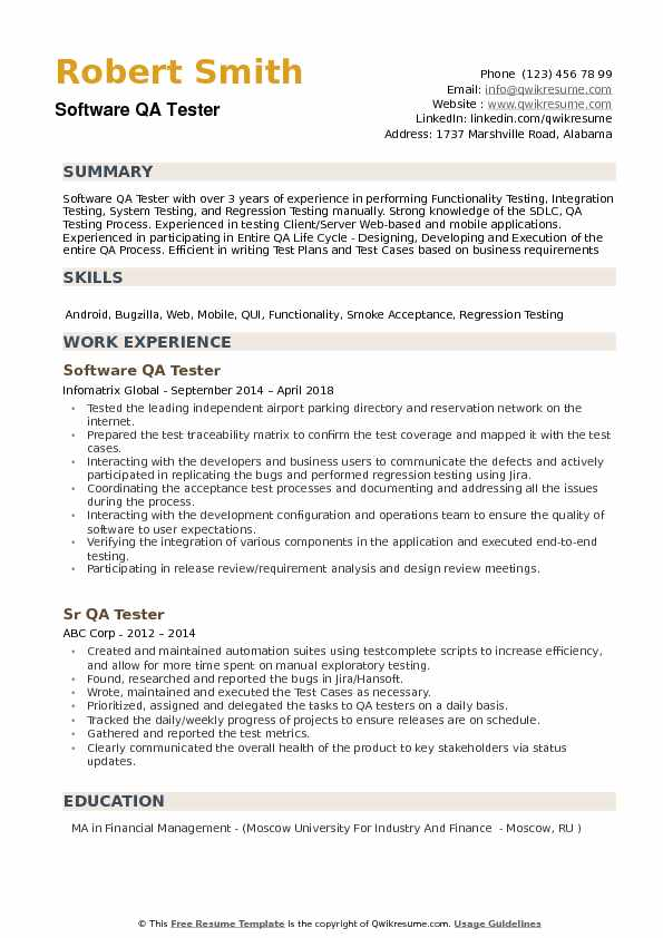 software qa tester resume samples qwikresume with years experience pdf sentence starters Resume Qa Tester Resume With 5 Years Experience