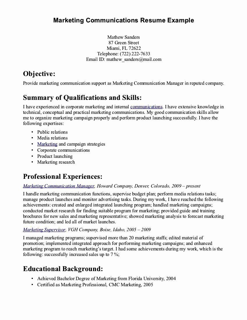 strong communication skills resume printable template examples section career goal Resume Strong Communication Skills Resume
