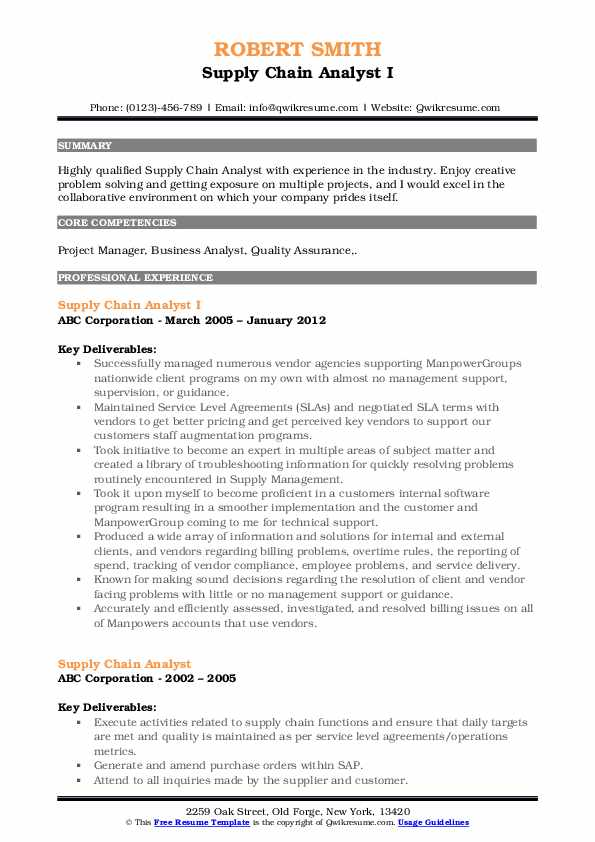 supply chain analyst resume samples qwikresume keywords pdf construction objective contoh Resume Supply Chain Analyst Resume Keywords