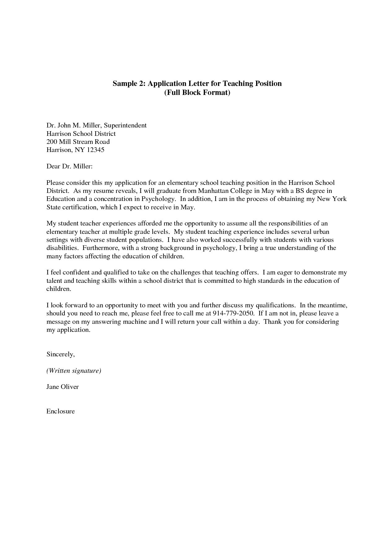 teacher cover letter application for letters to writing resume and college soccer coach Resume Writing A Teacher Resume And Cover Letter