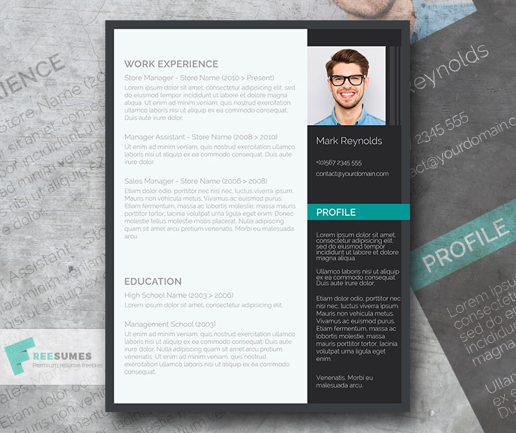 the modern professional free ultra creative cv template freesumes resume and sample for Resume Professional Resume Cv Template