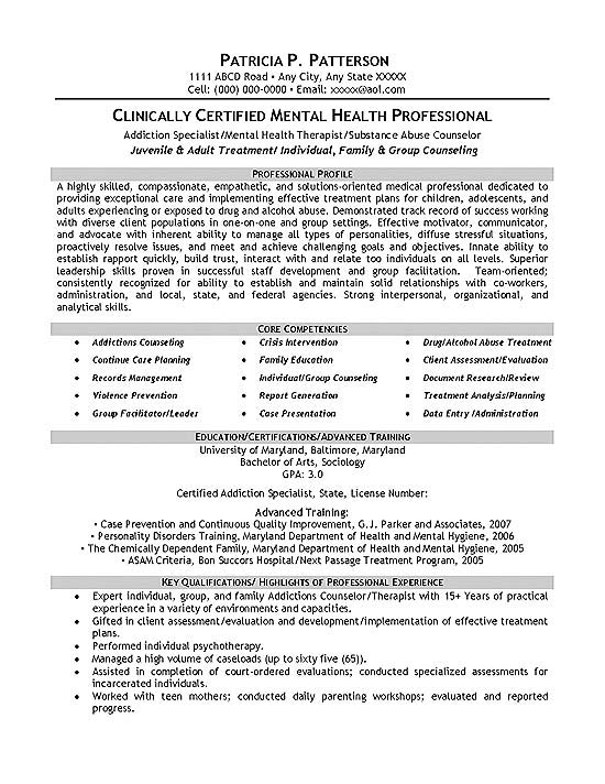 therapist counselor resume example of counseling psychologist sample exmed12a tanning Resume Resume Of A Counseling Psychologist