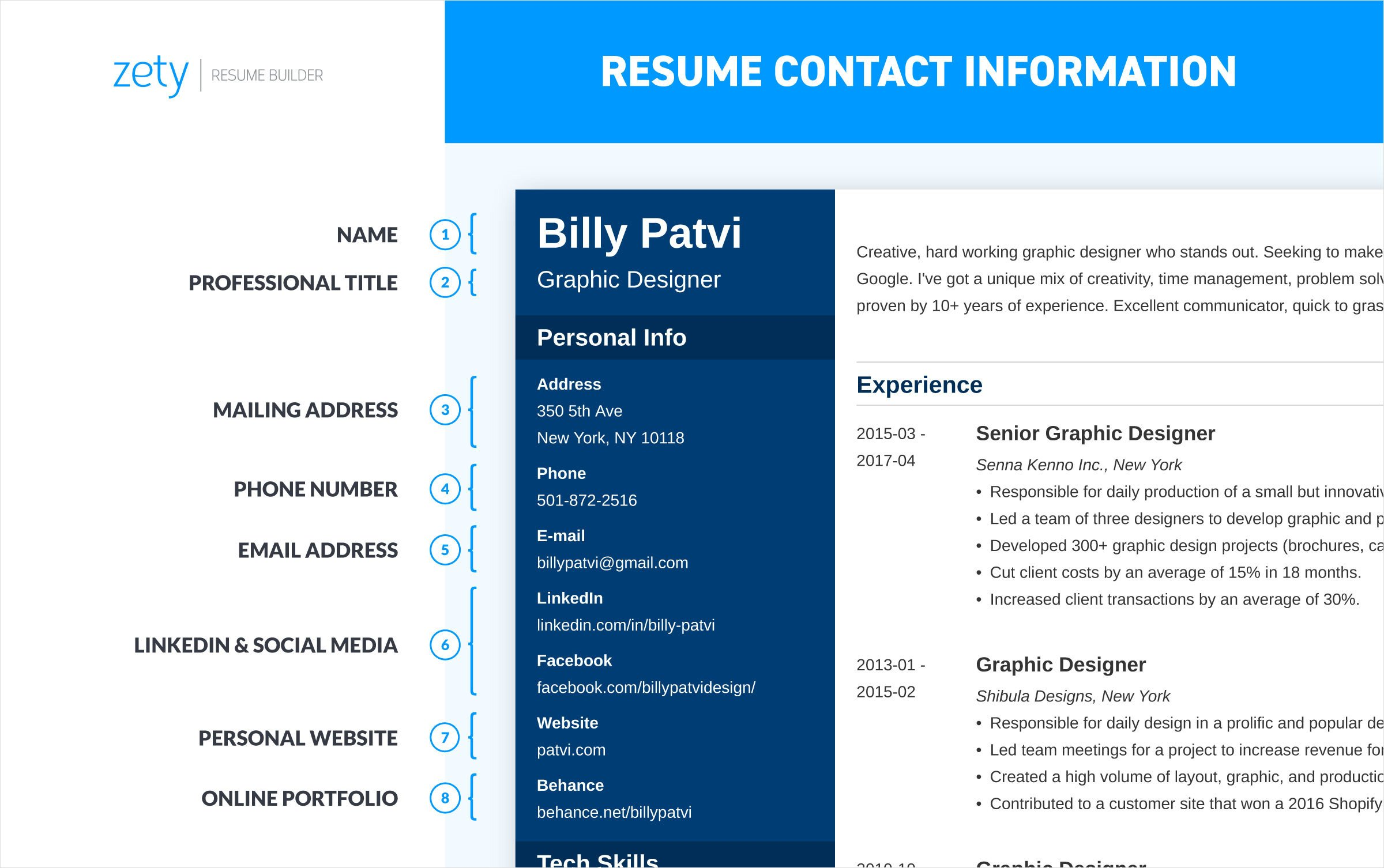 to write resume for job professional writing guide make new contact information on Resume Make A New Resume