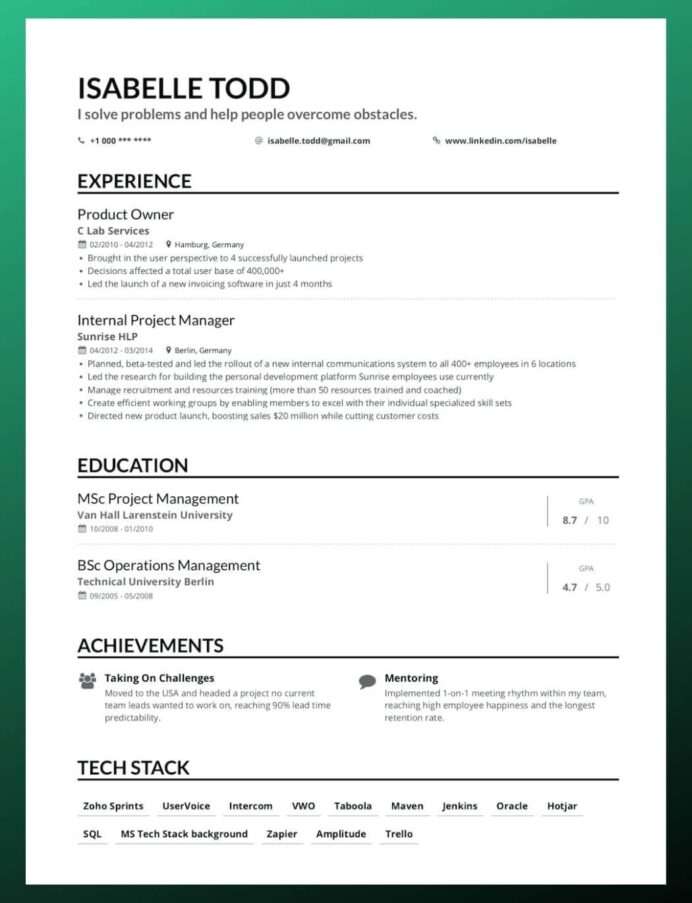 to write your first job resume putting together step by reverse chronological objective Resume Putting Together A Resume Step By Step