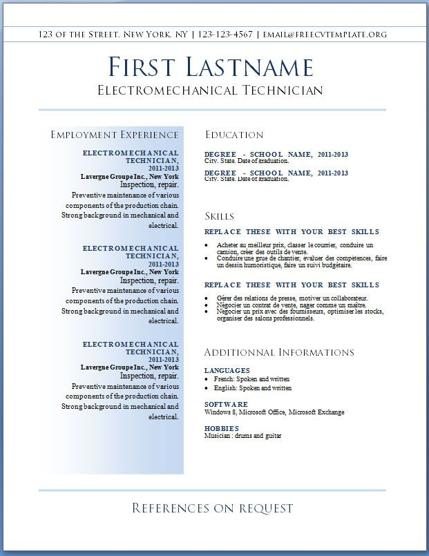 top free resume templates best template word downloadable examples operations coordinator Resume Best Resume Examples Free