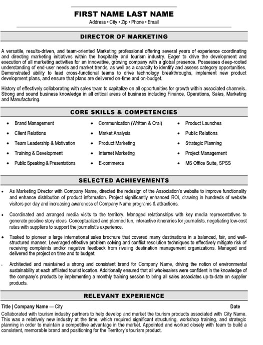 top marketing resume templates samples commerce specialist director sample perfect cover Resume E Commerce Specialist Resume