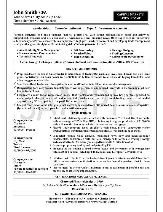 trader resume example candidate on exfi19 executive director summary software engineer Resume Cfa Candidate On Resume