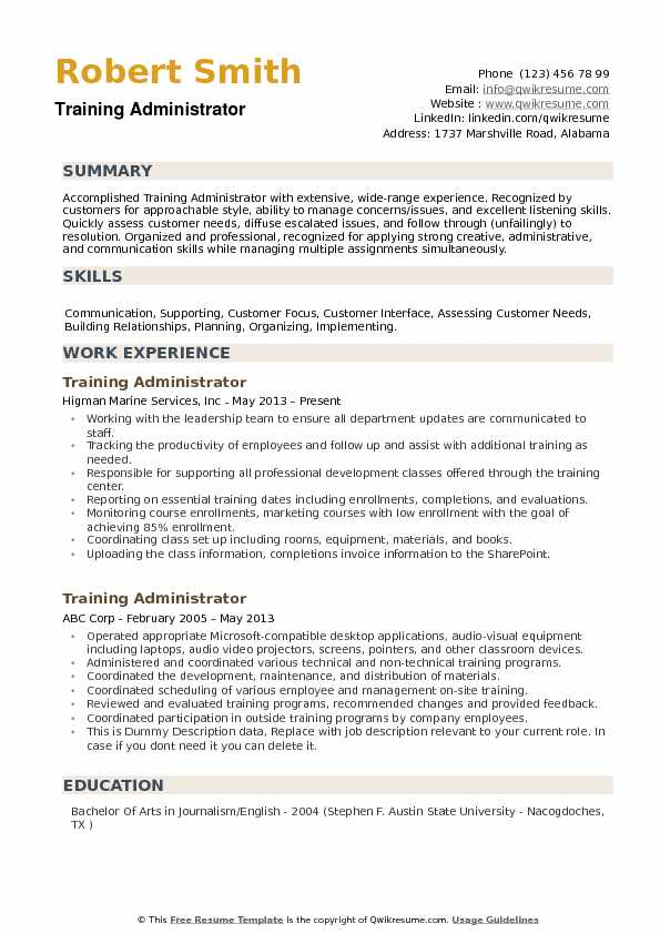 training administrator resume samples qwikresume lms pdf computer science graduate sample Resume Lms Administrator Resume