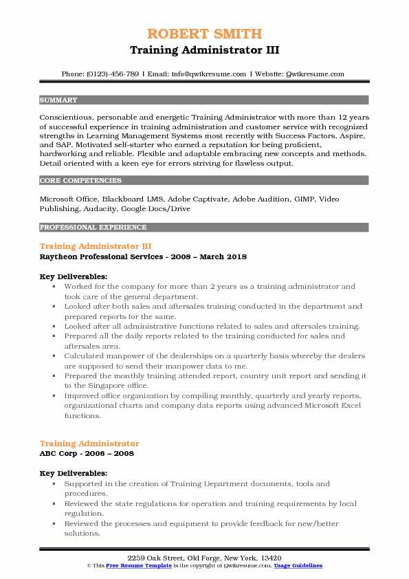 training administrator resume samples qwikresume lms pdf sonic job description for camera Resume Lms Administrator Resume