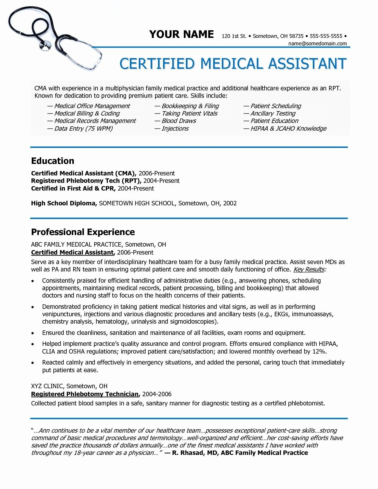 unique image of resume example the objective medical assistant coder objectives samples Resume Medical Assistant Resume Objectives Samples