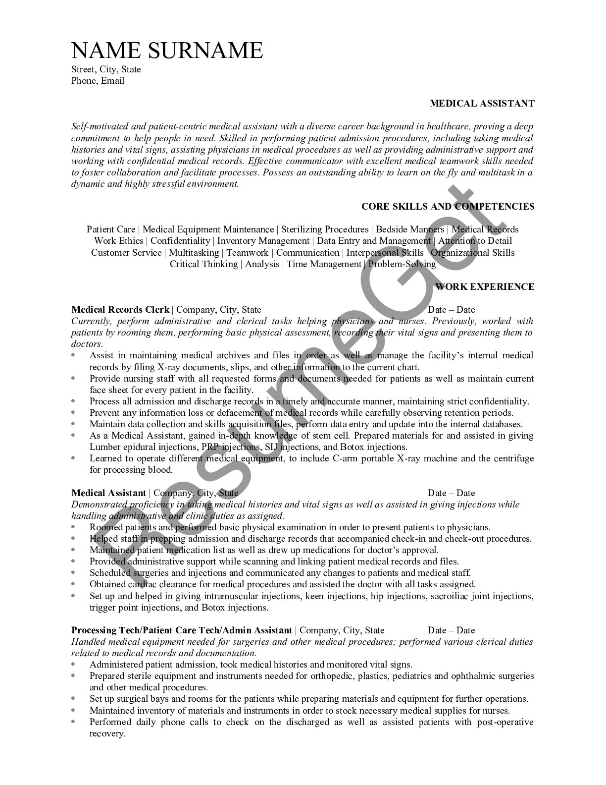 best resume writing service medical examples free guides assistant for promotion sample Resume Best Resume Service 2020