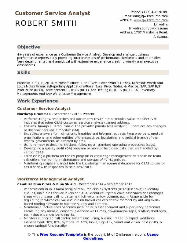 customer service analyst resume samples qwikresume sap pdf current templates sample Resume Sap Customer Service Resume