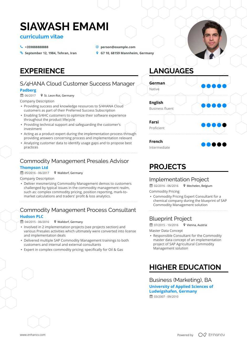customer support resume step ultimate guide for enhancv sap service non emergency medical Resume Sap Customer Service Resume