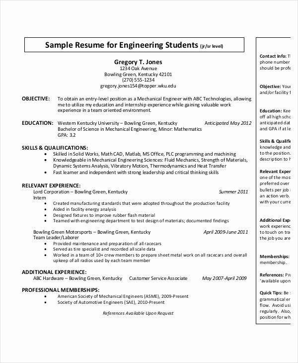 entry level electrical engineering resume awesome best templates pdf job samples Resume Entry Level Engineering Resume