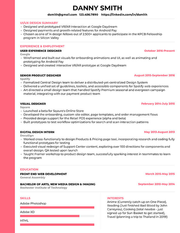 free resume templates for edit cultivated culture modern template1 public speaking skills Resume Free Modern Resume Templates 2020