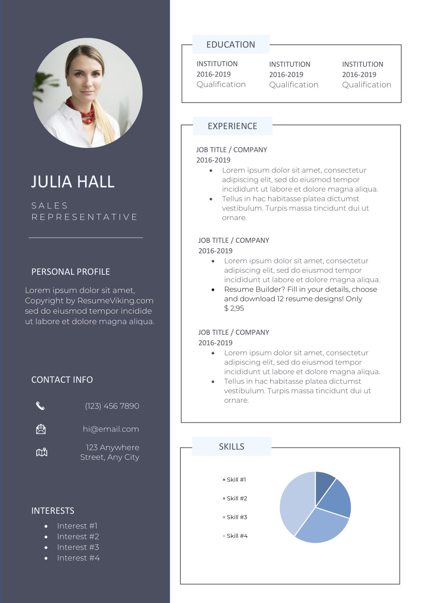 free word resume templates in ms template resumeviking scaled creative design for graphic Resume Resume Template 2020 Word Free