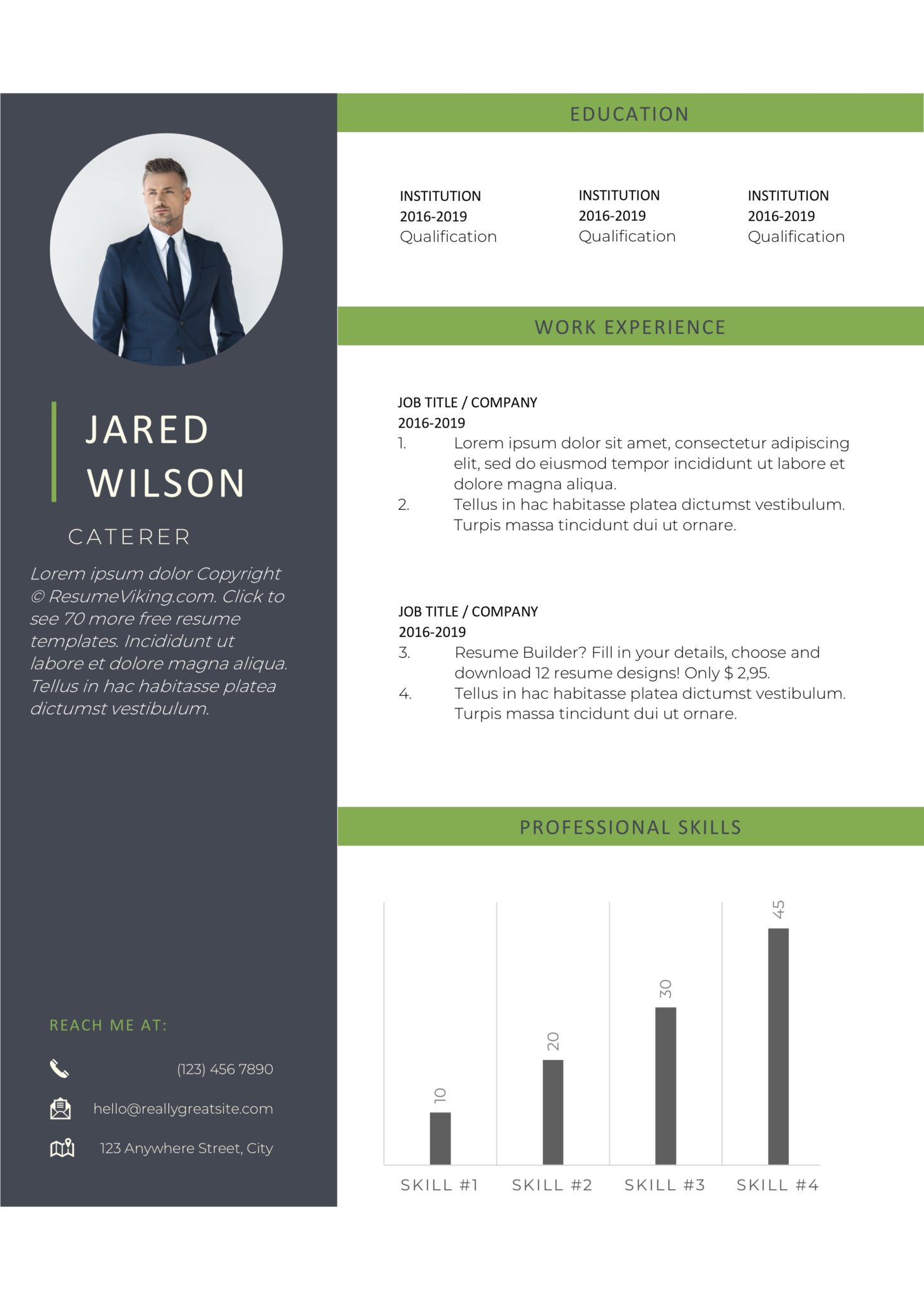 free word resume templates in ms template resumeviking scaled entry level aviation scan Resume Resume Template 2020 Word Free